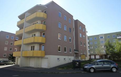 Klatovy Mánesova ulice - 16 bytových jednotek, 2008