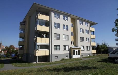 Klatovy Luční ulice - 16 bytových jednotek, 2005