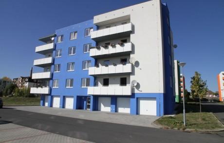 Klatovy Plánická ulice - 16 bytových jednotek, 2012