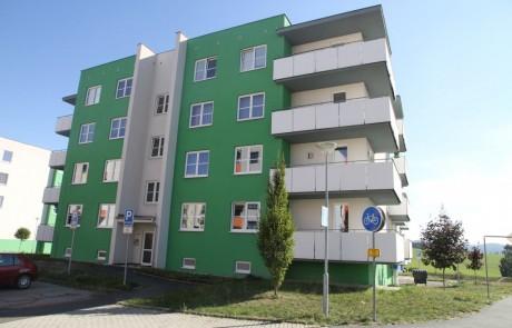 Klatovy Plánická ulice - 16 bytových jednotek, 2010
