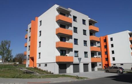 Klatovy Plánická ulice - 12 bytových jednotek, 2014