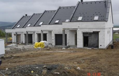 Horažďovické předměstí řadové domy 2010