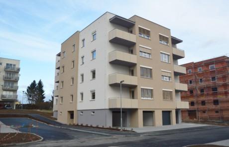 Klatovy Plánická ulice - 16 bytových jednotek, 2017